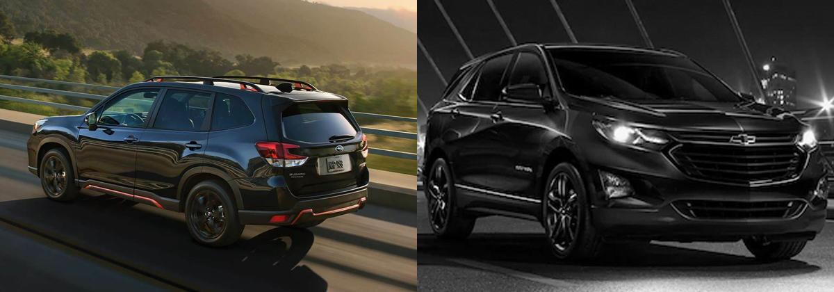 Glassman Subaru - Review 2020 Subaru Forester vs 2020 Chevrolet Equinox near Warren MI