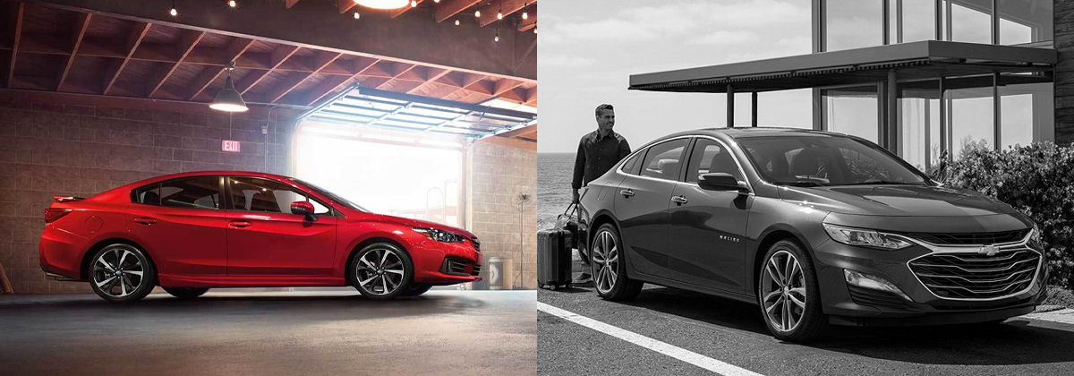 Explore the 2020 Subaru Impreza vs 2020 Chevrolet Malibu comparison in Southfield Michigan