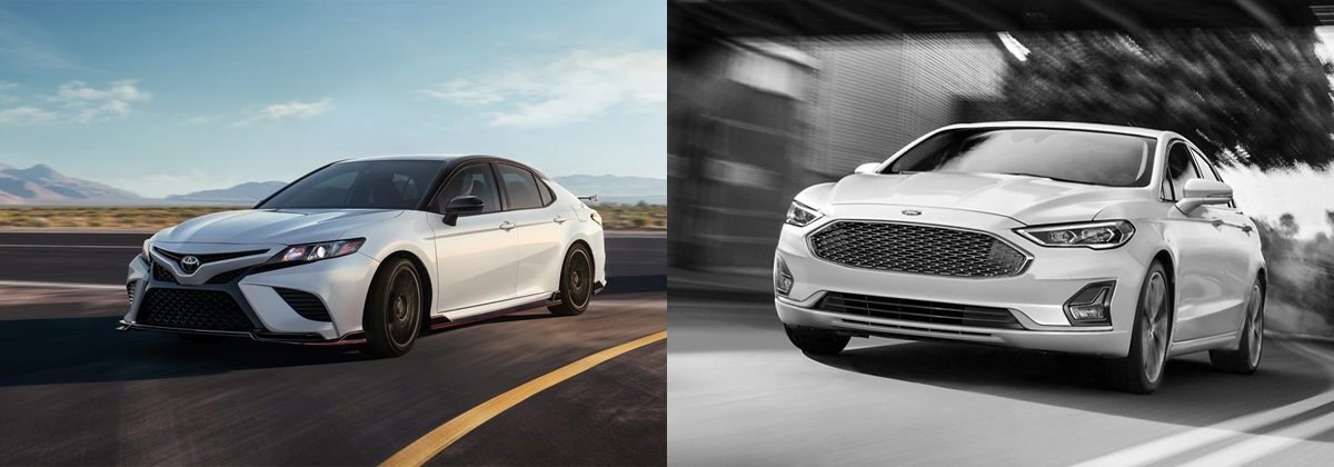 Review the 2020 Toyota Camry vs 2020 Ford Fusion in Hermitage PA