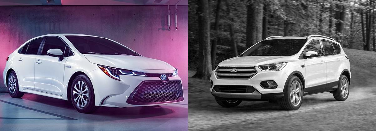 2020 Toyota Corolla vs 2019 Ford Escape - Tarbox Toyota