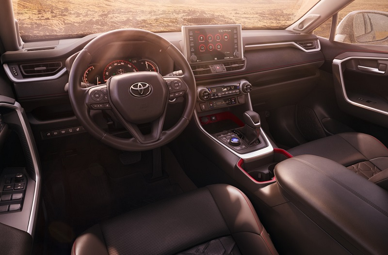 Shreveport LA - 2020 Toyota RAV4's Interior