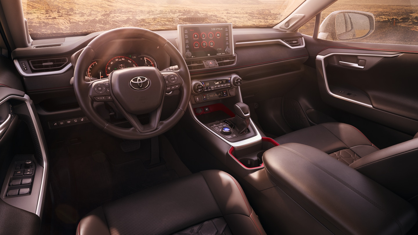 Shreveport Louisiana - 2020 Toyota RAV4's Interior
