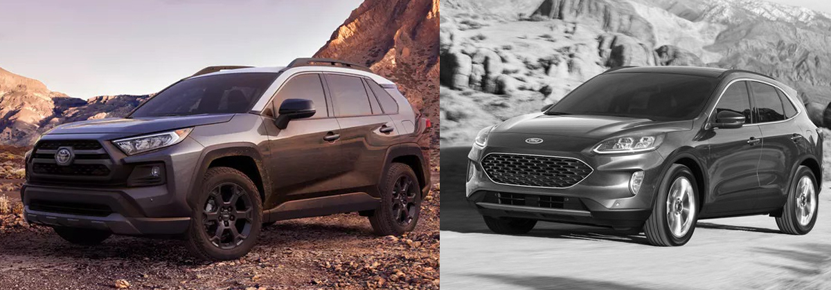 2020 Toyota RAV4 vs 2020 Ford Escape near Pittsburgh PA