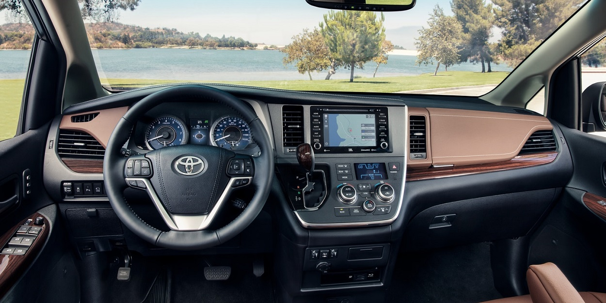 Bossier City LA - 2020 Toyota Sienna's Interior