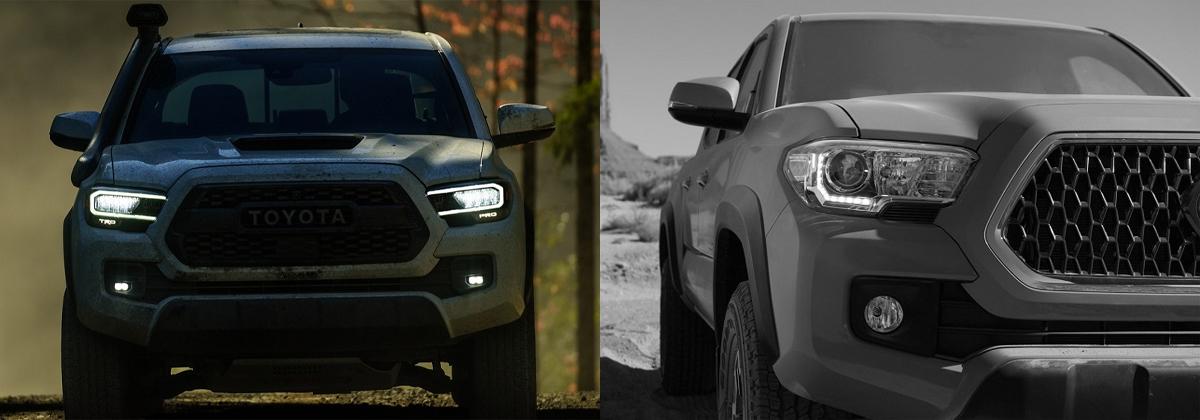 Compare 2020 Toyota Tacoma vs 2019 Toyota Tacoma
