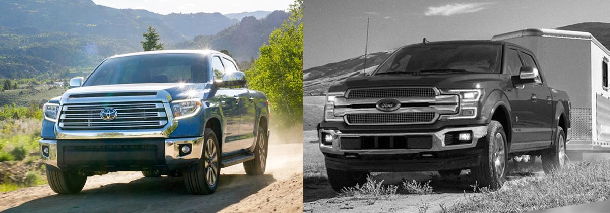 2020 Toyota Tundra vs 2020 Ford F-150