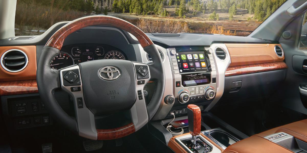 Pittsburgh PA - 2020 Toyota Tundra's Interior
