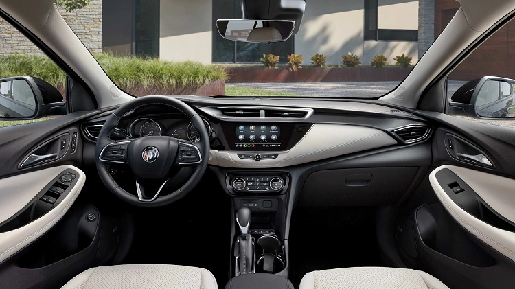Cedar Rapids IA - 2021 Buick Encore GX's Interior
