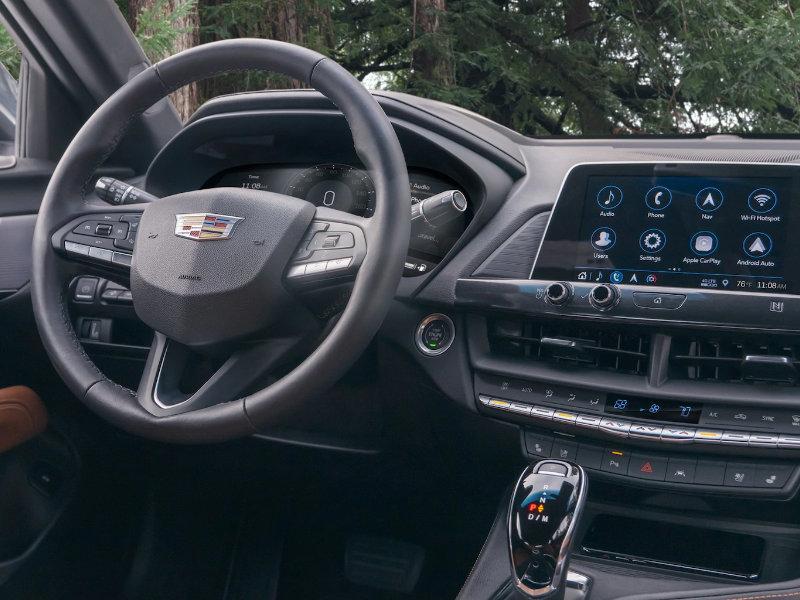 Maquoketa Iowa - 2021 Cadillac CT4's Interior