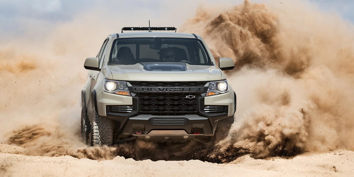 Maquoketa IA - 2021 Chevrolet Colorado Overview