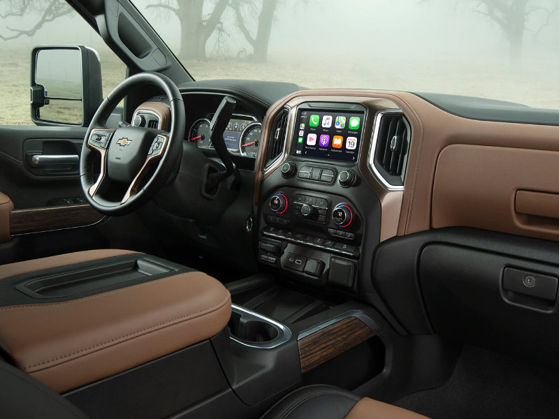 Hutto TX - 2021 Chevrolet Silverado 2500 HD's Interior