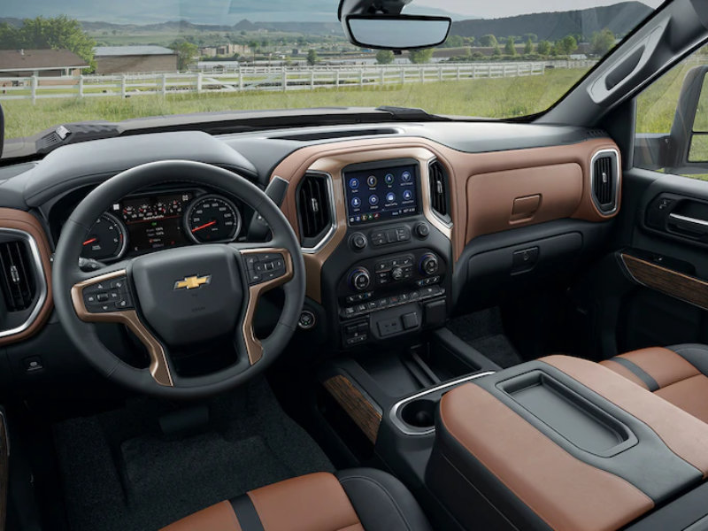 Hutto TX - 2021 Chevrolet Silverado 3500 HD's Interior
