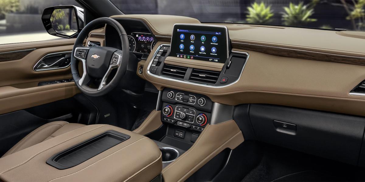 Hutto TX - 2021 Chevrolet Suburban's Interior