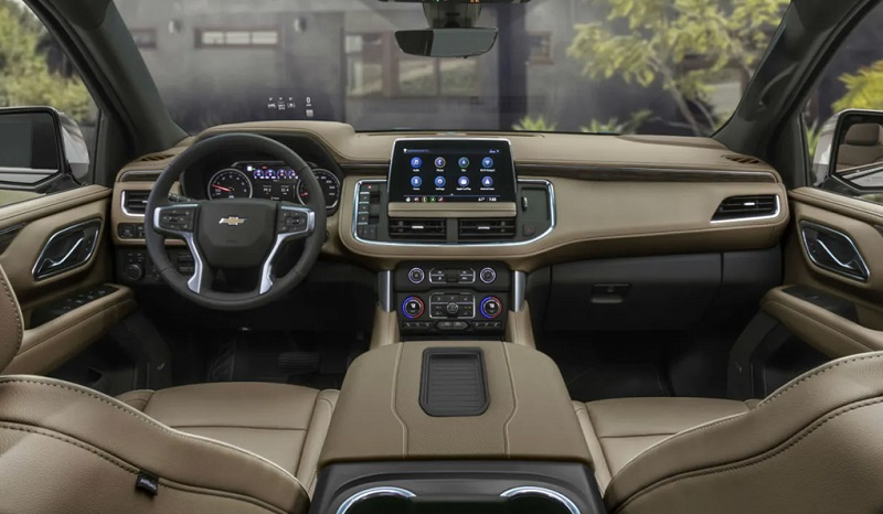 Customer Scout - 2021 Chevrolet Tahoe's Interior