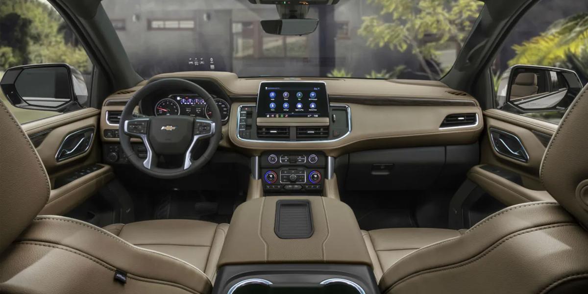 Hermitage PA - 2021 Chevrolet Tahoe's Interior