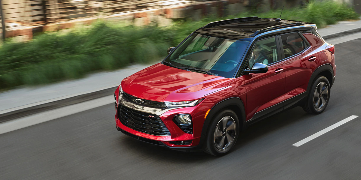 Dubuque IA - 2021 Chevrolet Trailblazer Overview