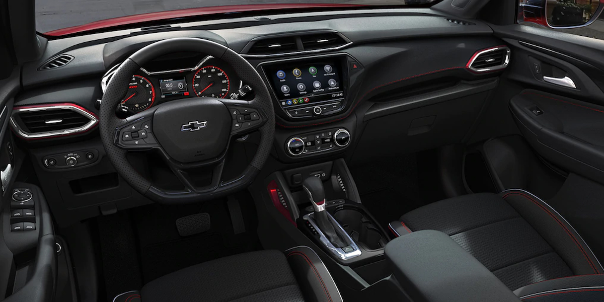 Dubuque IA - 2021 Chevrolet Trailblazer Interior