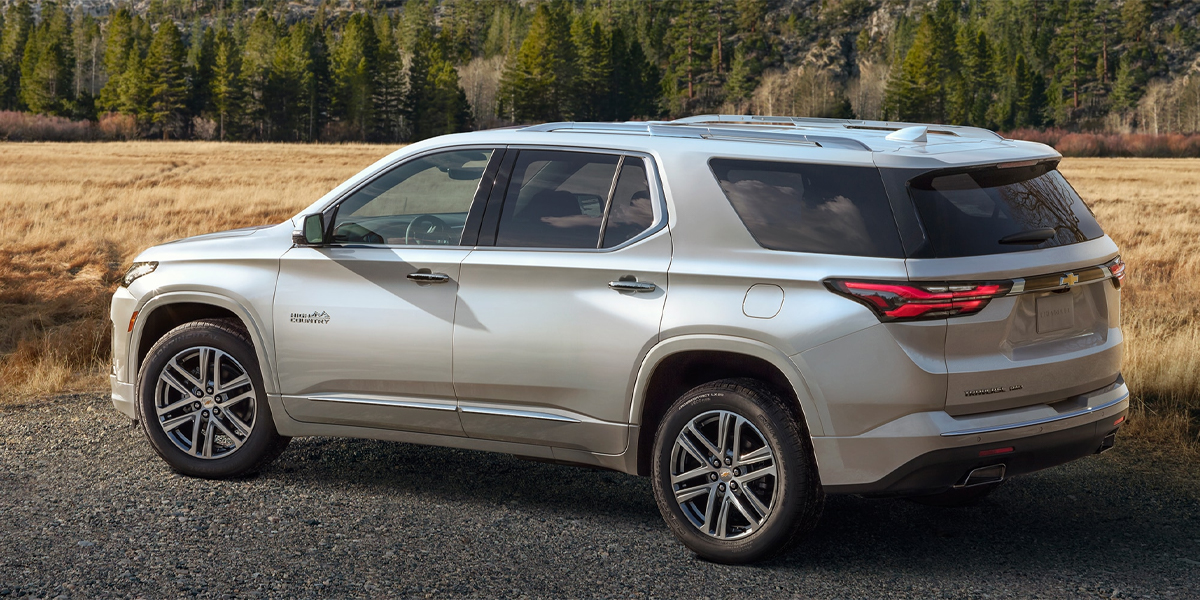 Youngstown OH - 2021 Chevrolet Traverse's Overview