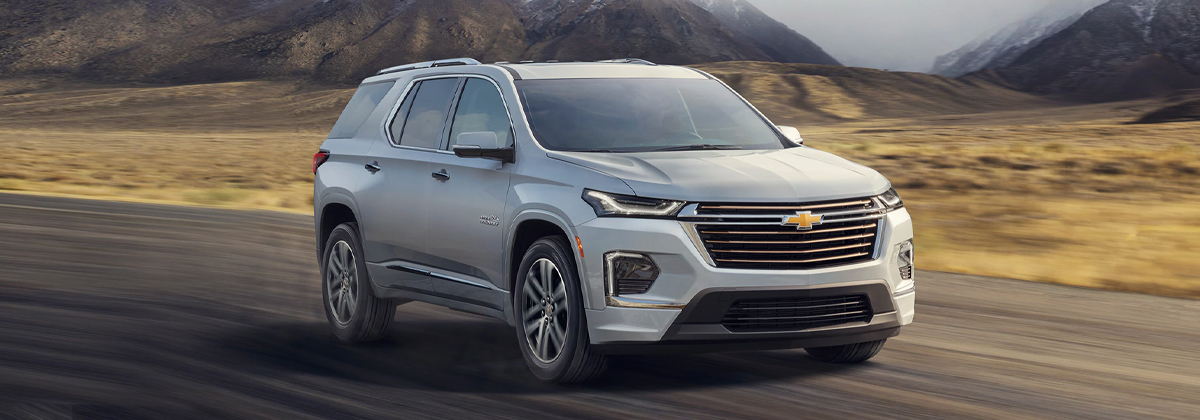 2021 Chevrolet Traverse Review near Austin TX