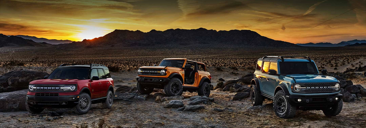 2021 Ford Bronco coming to Chino CA