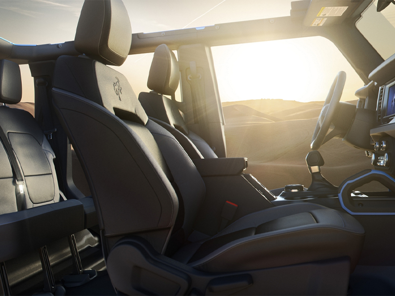 Quad Cities IA - 2021 Ford Bronco Interior