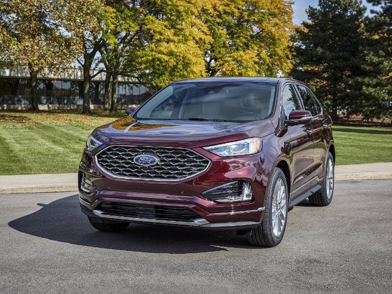 Davenport IA - 2021 Ford Edge's Overview