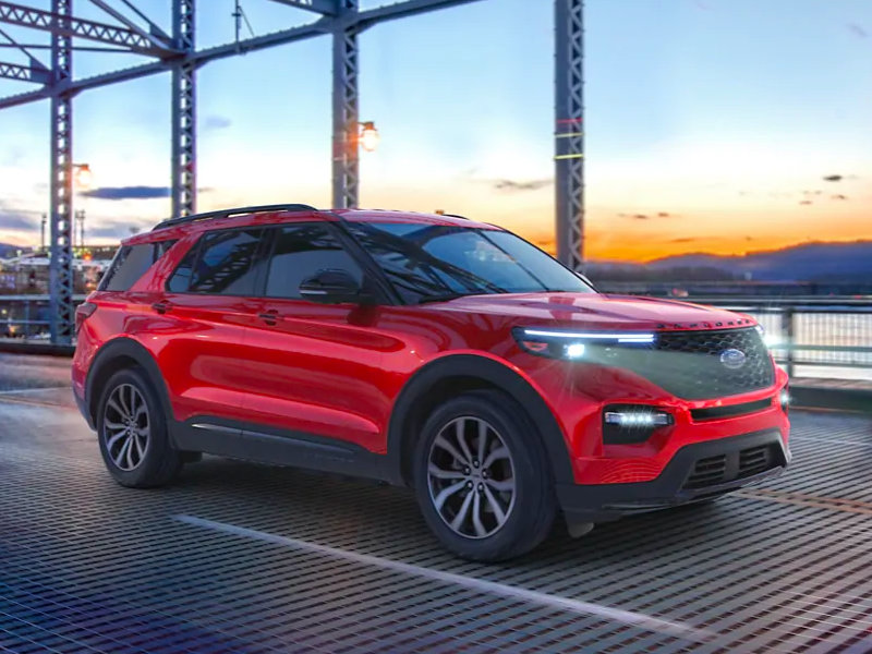 Galesburg Area Car Dealership - 2021 Ford Explorer