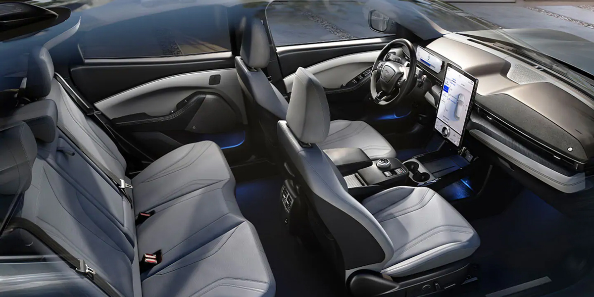 Customer Scout - 2021 Ford Mustang Mach-E's Interior