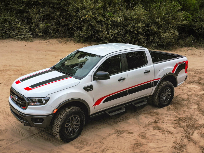 Sames Bastrop Ford - A 2021 Ford Ranger.offers more stability near Lockhart TX