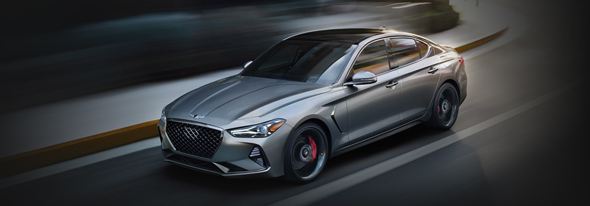 The new 2021 Genesis G70 has incredible features near Littleton Colorado