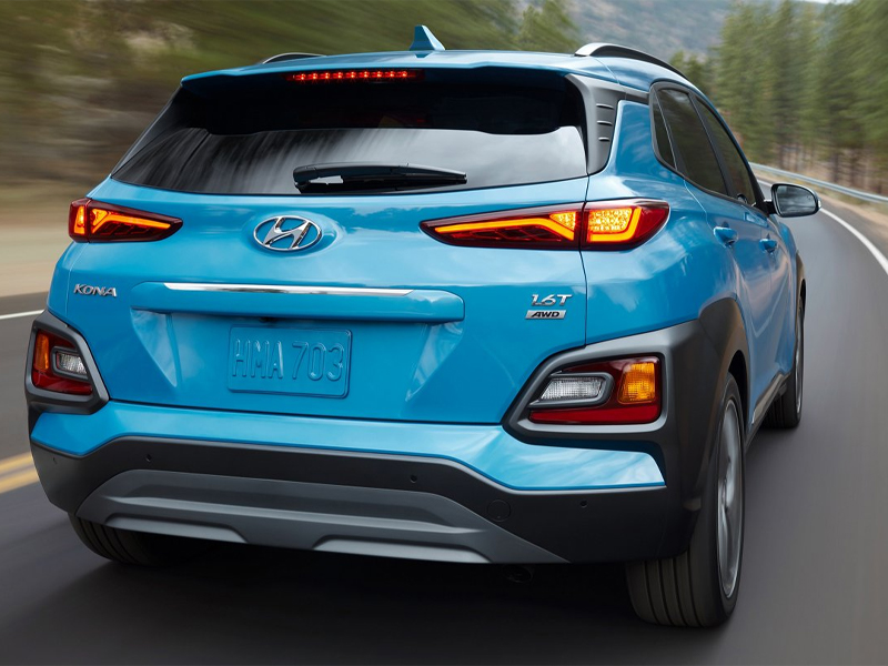 Colorado Springs CO - 2021 Hyundai Kona's Mechanical