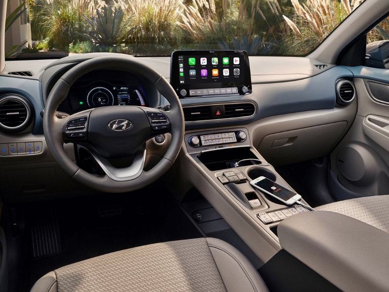 Johnston RI - 2021 Hyundai Kona Electric's Interior