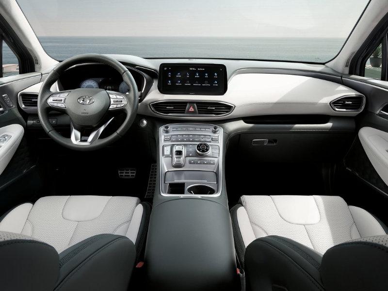 Southfield MI - 2021 Hyundai Santa Fe's Interior