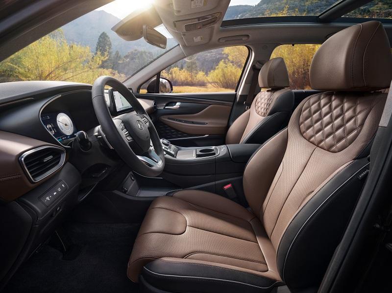 Centennial CO - 2021 Hyundai Santa Fe Hybrid's Overview