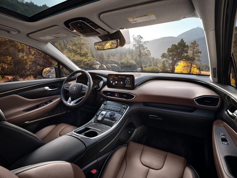 Centennial CO - 2021 Hyundai Santa Fe Hybrid's Interior