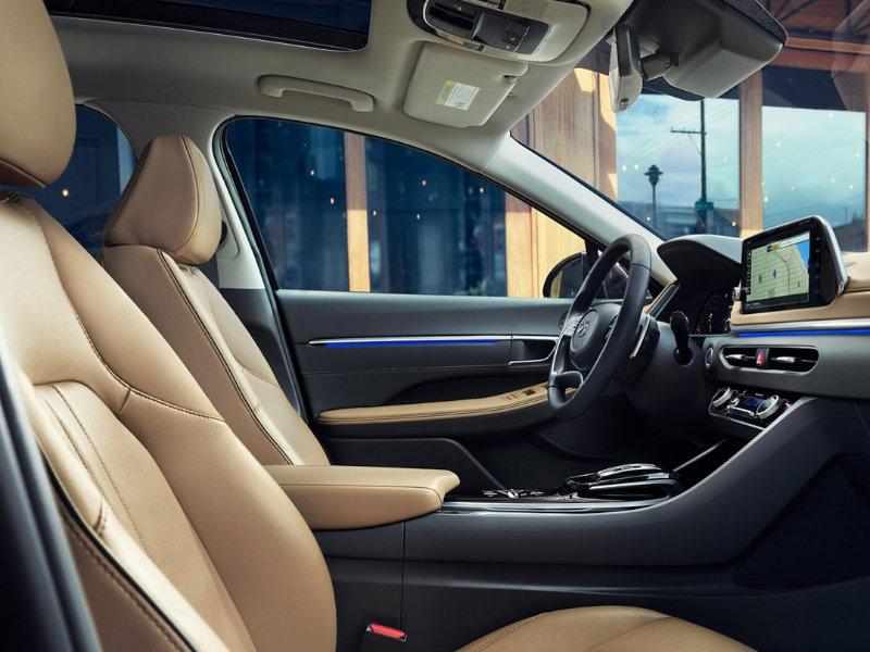 Troy MI - 2021 Hyundai Sonata's Interior