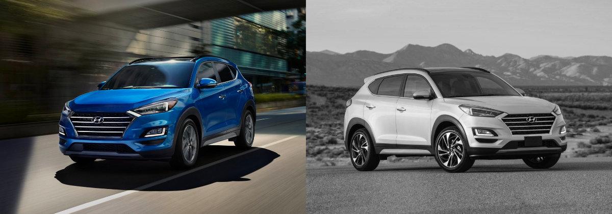 2021 Hyundai Tucson vs 2020 Hyundai Tucson near Denver CO