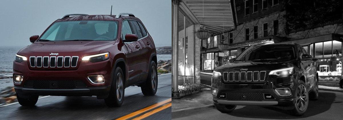 2021 Jeep Cherokee vs 2020 Jeep Cherokee near Los Angeles