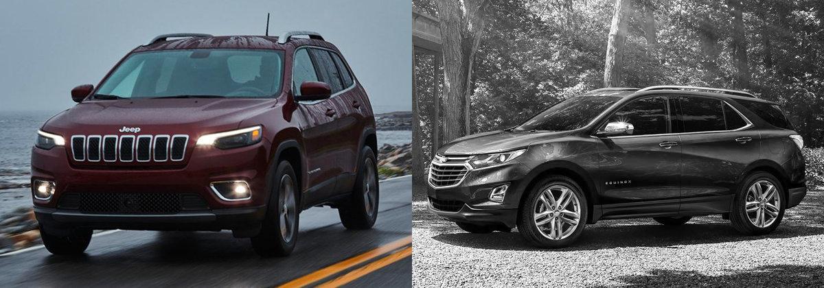 2021 Jeep Cherokee vs 2021 Chevrolet Equinox in Wabash IN