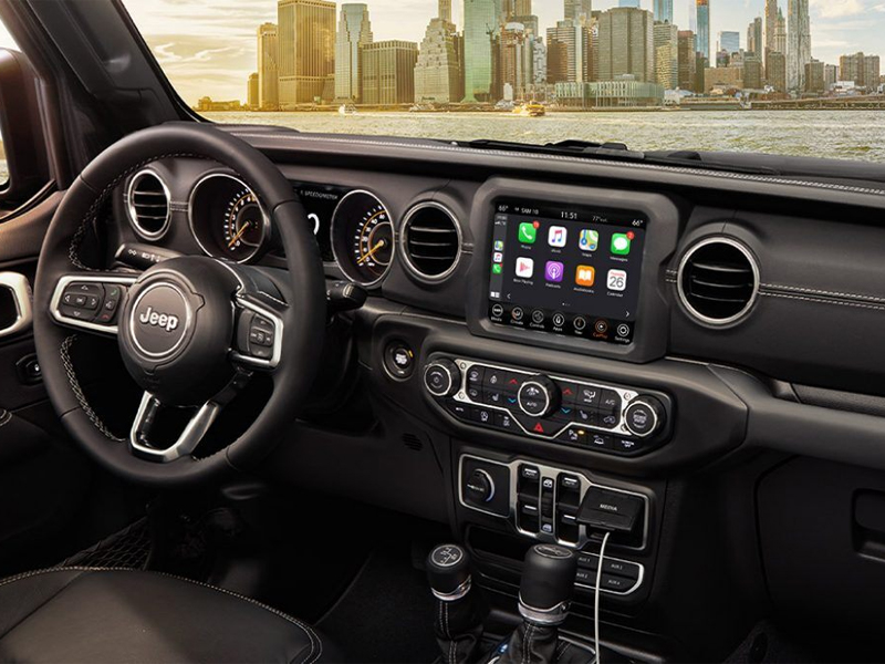 City of Industry CA - 2021 Jeep Gladiator's Interior