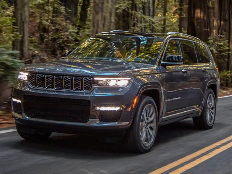 Wabash IN - 2021 Jeep Grand Cherokee L's Exterior