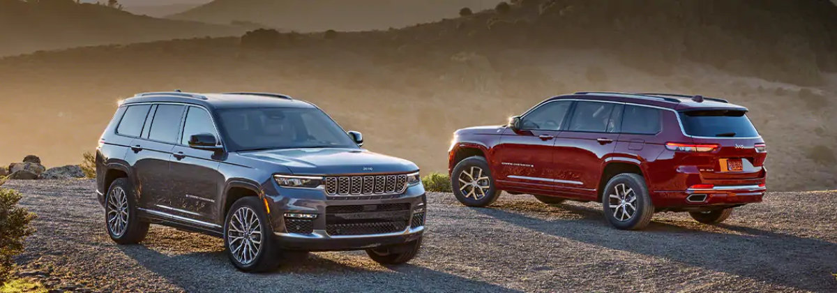 2021 Jeep Grand Cherokee L in City of Industry CA