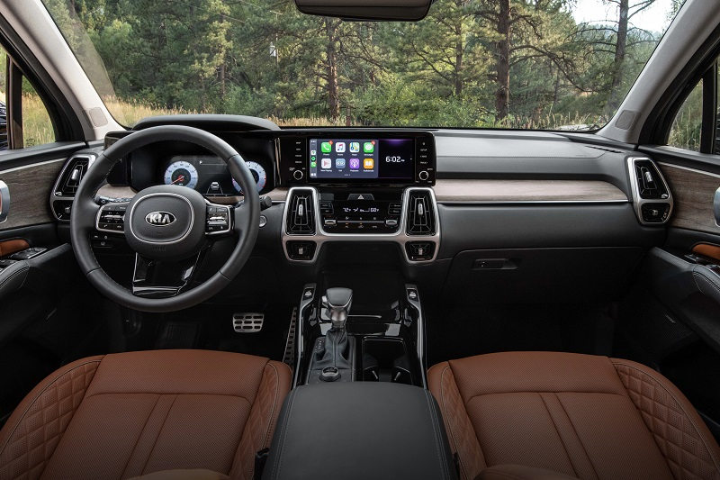 Alliance OH - 2021 Kia Sorento's Interior