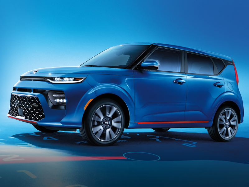 A 2021 Kia Soul is packed with features near Littleton CO