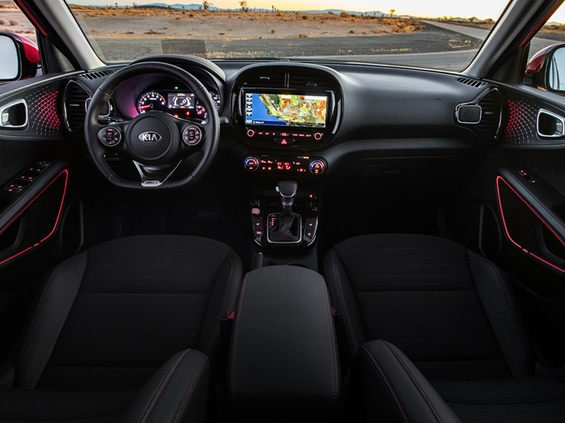 Youngstown OH - 2021 Kia Soul's Interior