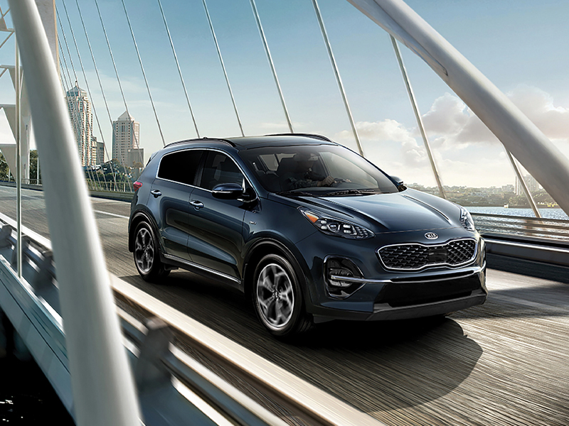 Choose from 4 2021 Kia Sportage editions near Denver CO