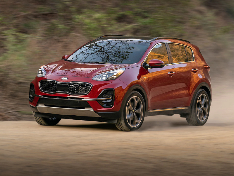 The 2021 Kia Sportage now features the Nightfall package near Aurora CO