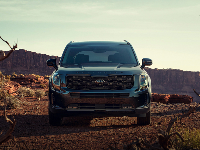The 2021 Kia Telluride goes above and beyond near Parker CO