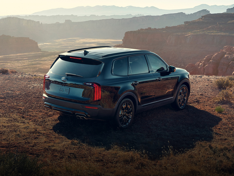 See the 2021 Kia Telluride Nightfall package in Centennial CO