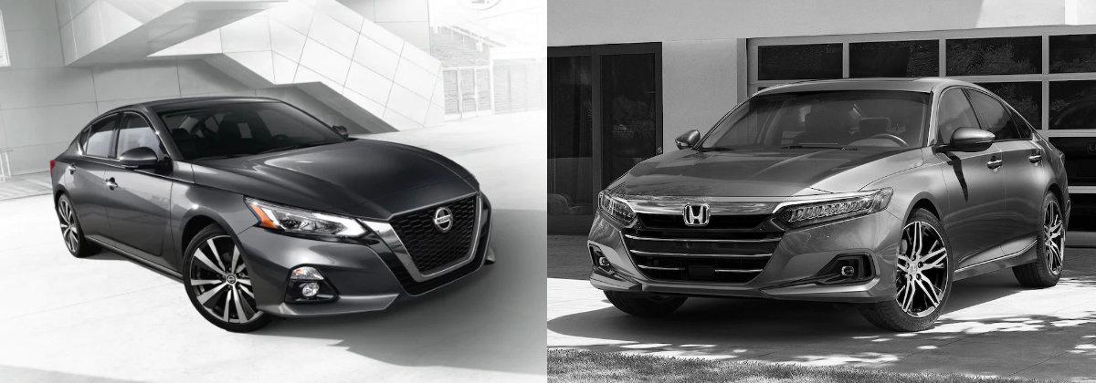 2021 Nissan Altima vs 2021 Honda Accord in San Juan Capistrano